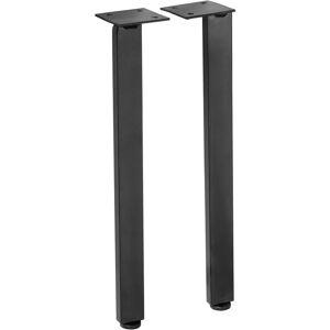 Lapeyre Jeu de 2 pieds H.30 noir YTRAC/EDDA - Publicité