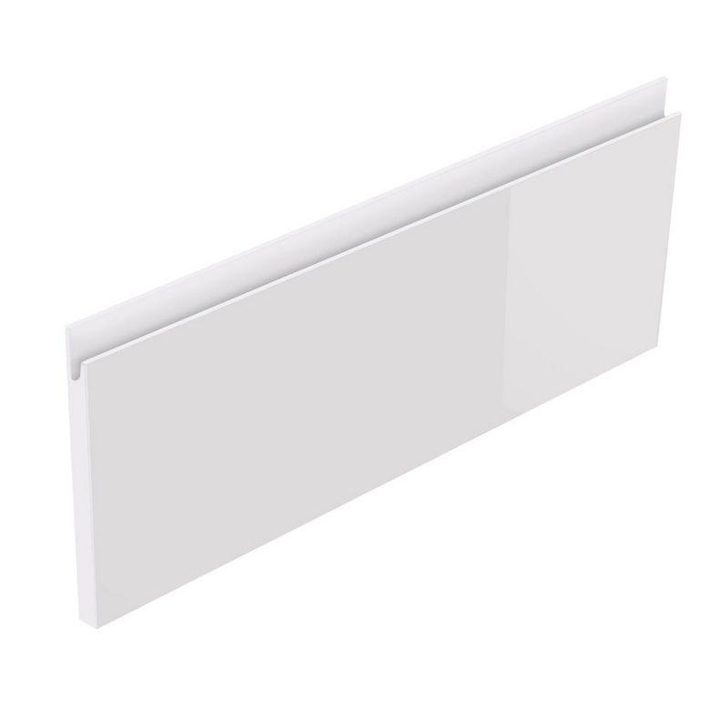 Lapeyre Façade de tiroir H24 CREAMIX avec prise de main bois clair l.60