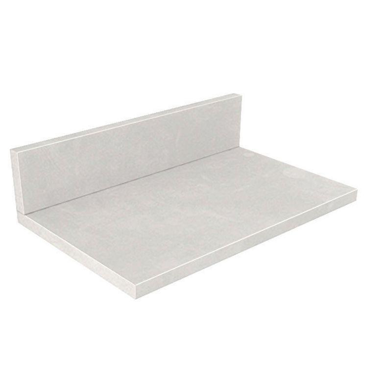 Lapeyre Plan + credence beton clair l110 BRUT