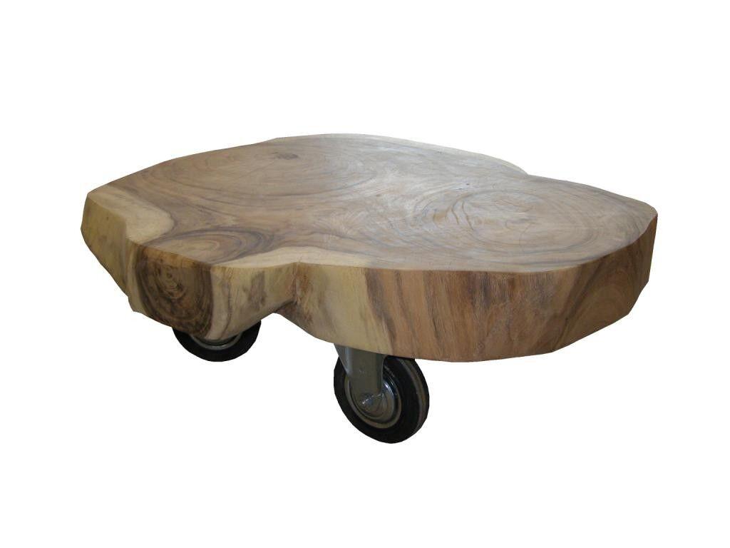 henk_schram_meubelen Table basse sur roulettes Roue arbre - brancard à munitions