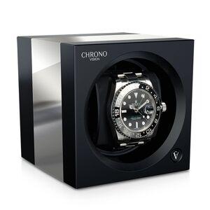 Chronovision Chronovision One - Noir Brilliant Aluminium brossé - Publicité