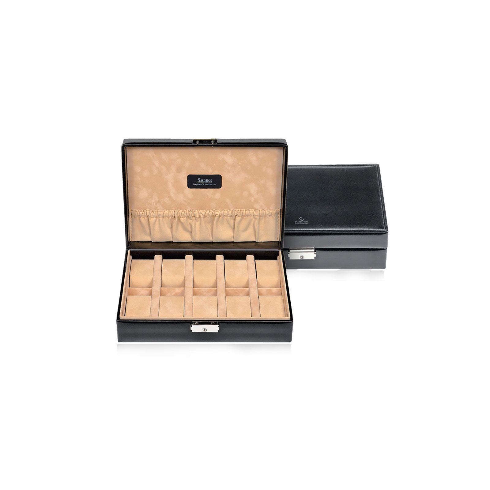 Sacher Boîte à Montre Tamigi 10 - Noir