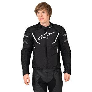 Alpinestars T-Jaws V3 WP Veste textile pour Moto Noir Blanc alpinestars - XL