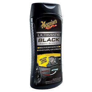Meguiars Ultimate Black produit entret. pr plast. Contient: 355 ml Meguiars - Publicité