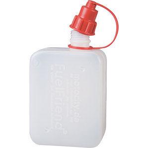 Fuel-Friend Fuelfriend-Clear + tuyau rempl. intégré Jerrican de 0,5 l, transparent Fuel-Friend