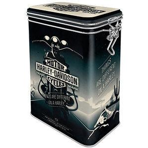 Harley-Davidson Boîte de conservation Harley Davidson h x b d: 17,5x11x7,5cm Harley-Davidson