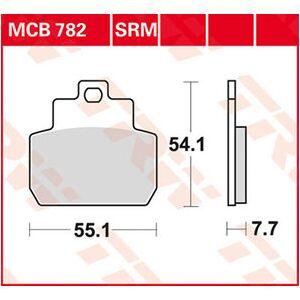 TRW plaquettes de frein metal fritté pour scooters avec ABE Moto - Publicité