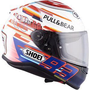 Shoei NXR Marquez Power Up TC-1 casque intégral Bleu Blanc Rouge - S - Publicité