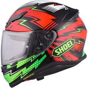 Shoei NXR casque intégral Variable TC-4 Rouge Blanc Vert Noir - XXL - Publicité