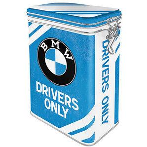 BMW Boîte de conservation BMW Drivers Only h x b d: 17,5x11x7,5cm