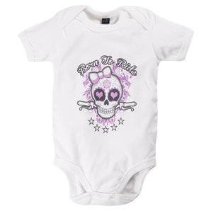 Louis Born To Ride Girly Body bébé Blanc Louis - S