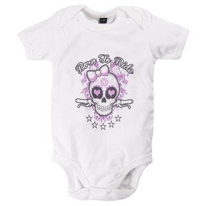 Louis Born To Ride Girly Body bébé Blanc Louis - L