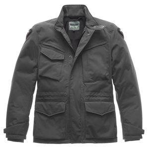 Blauer H.T. Blauer Ethan veste textile hiver pour Moto Gris H.T. - XXXL