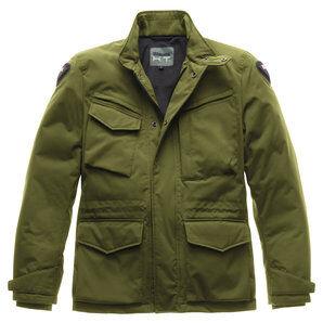 Blauer H.T. Blauer Ethan veste textile hiver pour Moto Olive H.T. - L