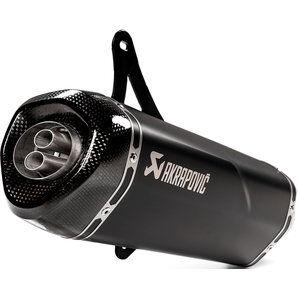 Akrapovic ligne scooter en titane, carbone & inox