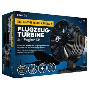 Franzis maquette techn. turbine d'avion