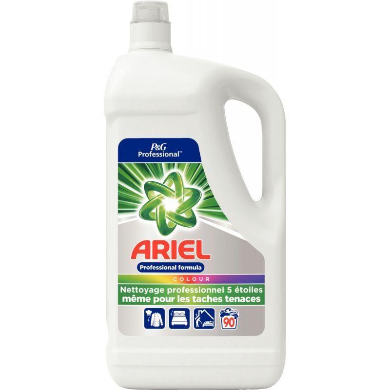e-fournitures Bidon 5 litres 90 doses lessive liquide couleur ARIEL PRO
