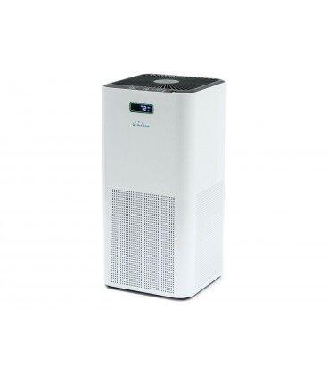 Mobelium Purificateur d'air avec filtre hepa, charbon actif, catalyseur froid et ioniseur, utilisation 60 m2, air frais 150