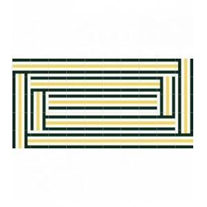 Mobelium Tapis De Vinyle Moderne 230x160cm - Publicité