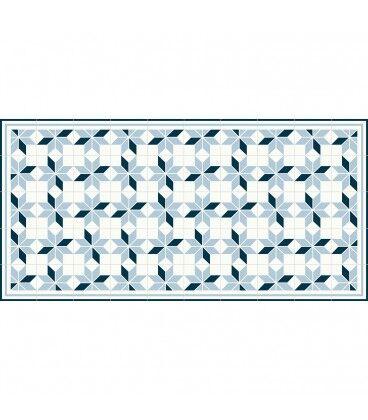 Mobelium Tapis De Vinyle Grand Format Geometrique 295x195cm