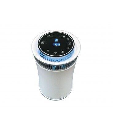 Mobelium Purificateur d'air avec filtre hepa, charbon actif, lampe UV et ioniseur, utilisation 20m2, air frais 50