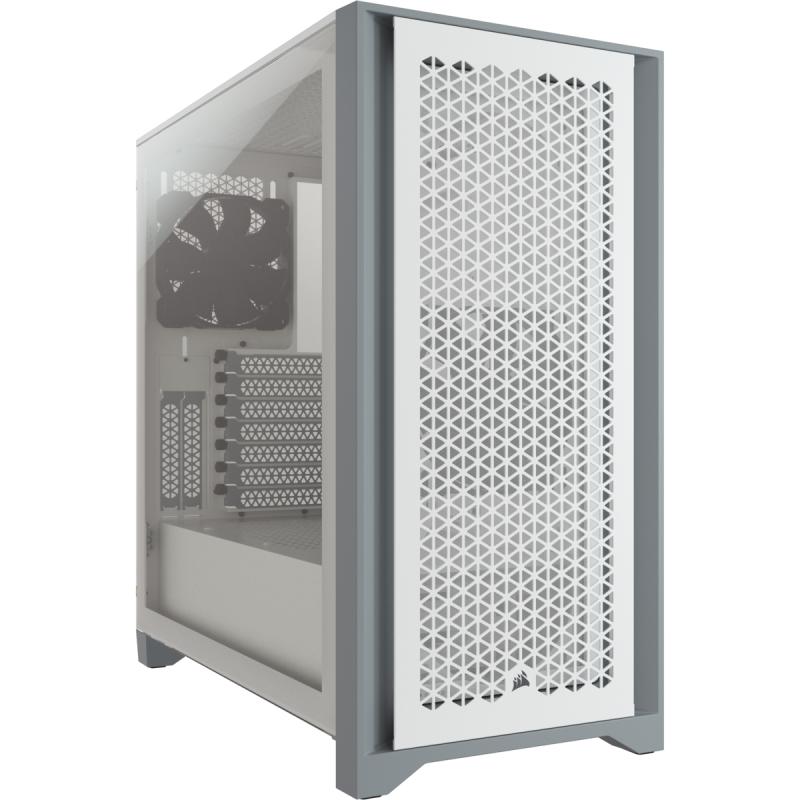 Gigabyte Config Vision Powered By Gigabyte AORUS NVMe Gen4 SSD 500 Go AORUS RGB 2X8Go 3200Mhz CL16 Câble rallonge gainé Blanc 24   8   8  8  CORSAIR 4000D Airf