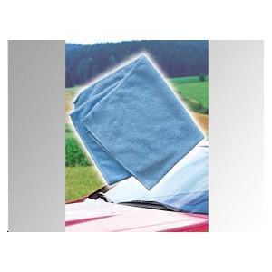 APA Chiffon microfibre bleu 40x40 cm - - Publicité