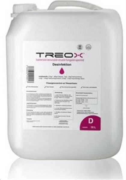 RIDER-TEC TREOX - Désinfectant, virucide prêt à l'emploi - 10 Litres -