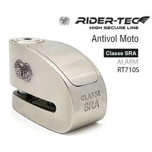RIDER-TEC Antivol moto Bloque Disque SRA Avec Alarme - - Publicité