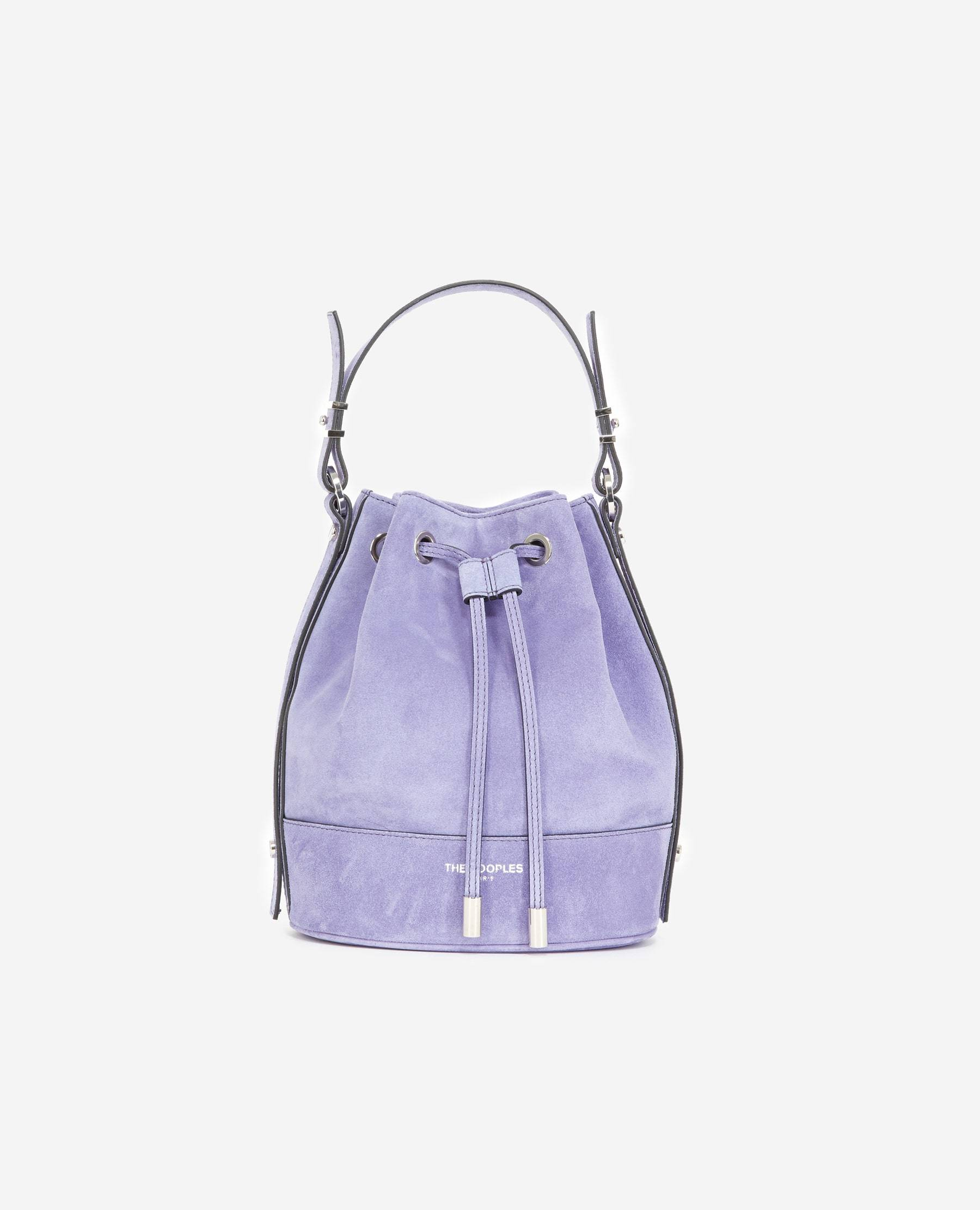 The Kooples - Sac Medium Tina daim lilas - FEMME Taille Unique