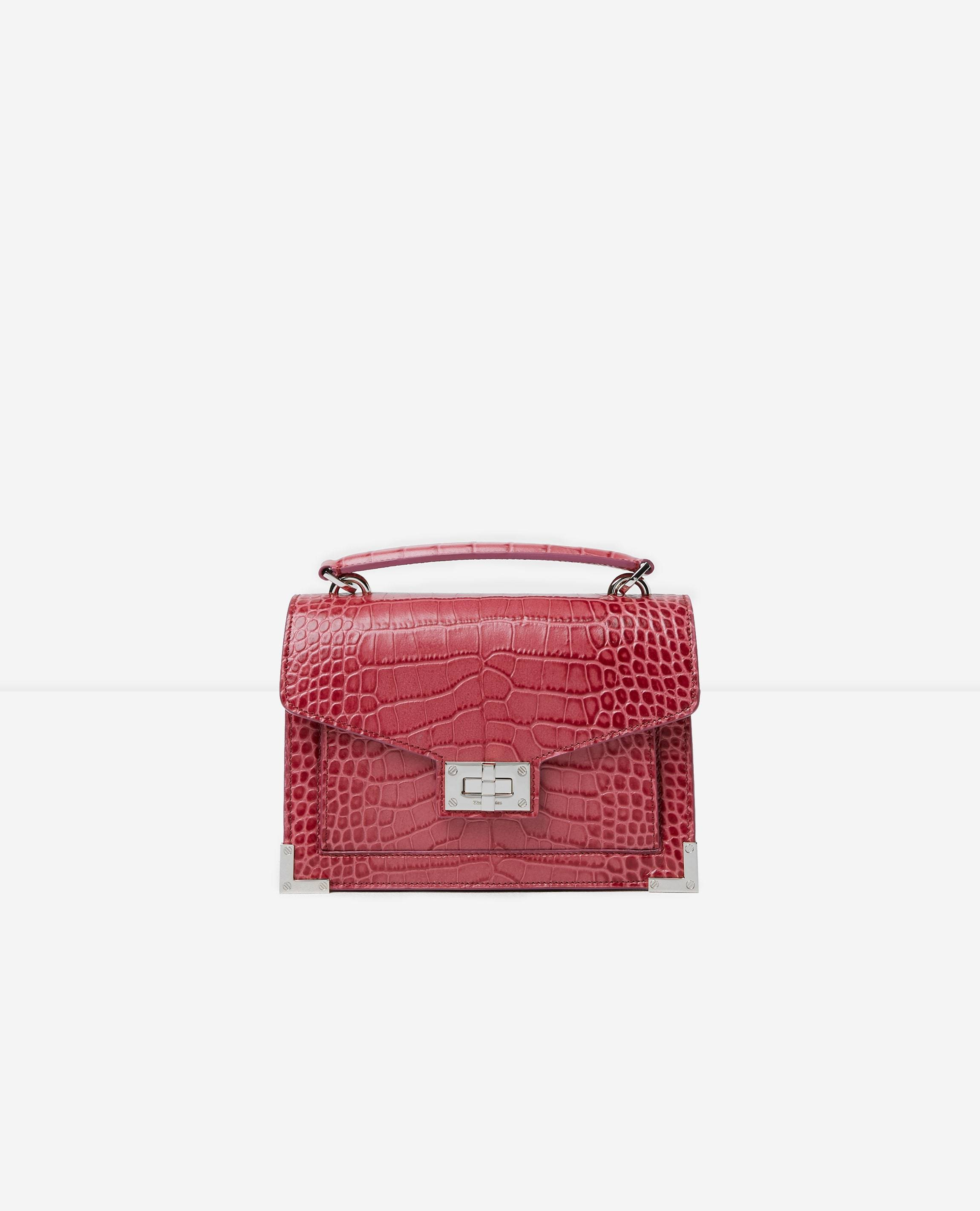 The Kooples - SAC EMBOSSE CUIR SMALL - FEMME Taille Unique