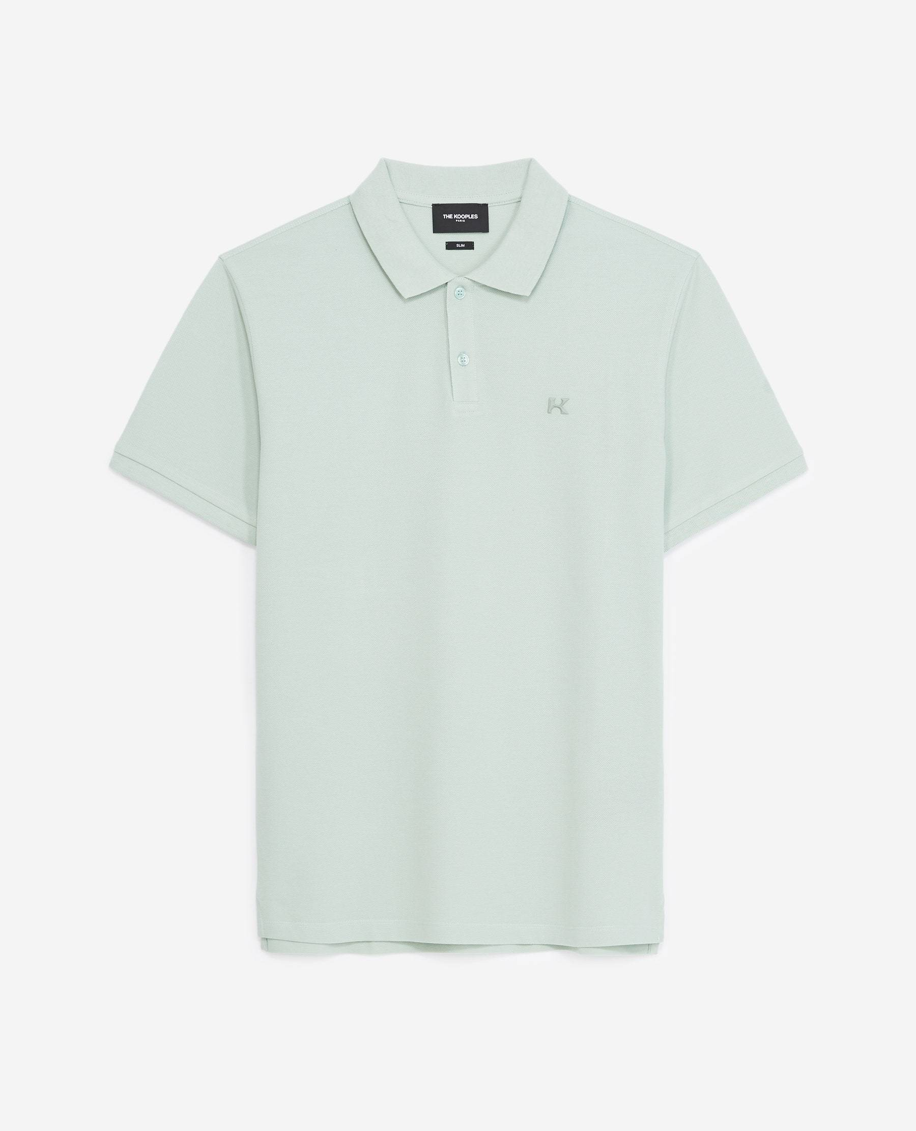 The Kooples - Polo vert menthe à logo gomme - HOMME S