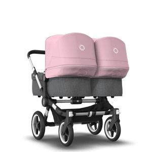 Bugaboo Poussette naissance et 2e âge Bugaboo Donkey 3 Twin pink - Publicité