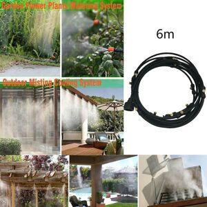 Extérieur brumisation Système de refroidissement Jardin d'eau d'irrigation Monsieur 6m Nozzles @sdongt504 - Publicité