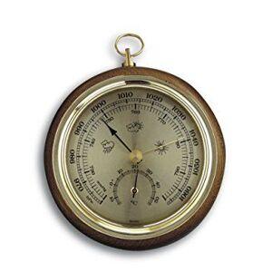 TFA Dostmann TFA 45.1000.01 Baromètre en chêne 108 mm - Publicité