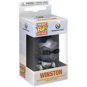 Porte-clé funko pocket pop! overwatch: winston - Publicité