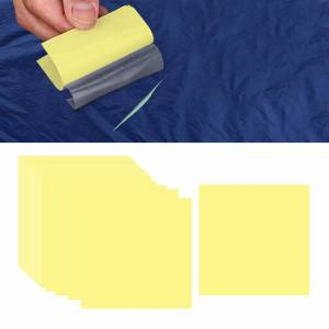 Auto-Adhésif Vinyle de Réparation Patch, Résistance À L'eau Patchs de Réparation Kits pour Piscines Gonflable Bateaux Produits, bains À Remous, Tente 30 pièces - Publicité