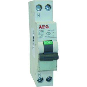 AEG Disjoncteur AEG Ph+N 16A - Publicité