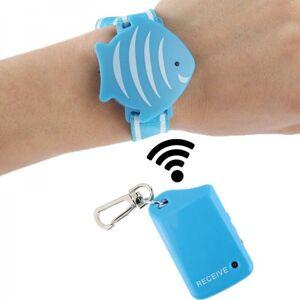 Bracelet enfant porte cl? anti perte ?loignement surveillance bagage - Publicité