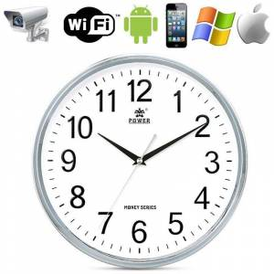 Horloge Caméra Espion Wifi Surveillance Point To Point Smartphone Android Iphone - YONIS - Publicité