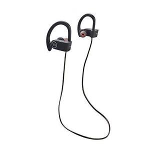 Tie Studio Bluetooth 4.1 Sport Bluetooth sport Ecouteurs intra-auriculaires micro-casque, volume réglable, résistant à l - Publicité