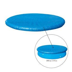 Couverture de piscine gonflable de couverture de piscine de tissu Couverture de piscine ronde de PE de couverture de poussière de piscine zhufuwme29 - Publicité