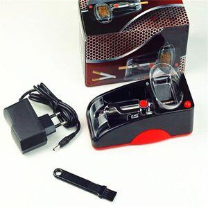 Nuaele Machine à tuber les cigarettes automatique - Machine à rouler cigarette électrique - Rouge - Publicité