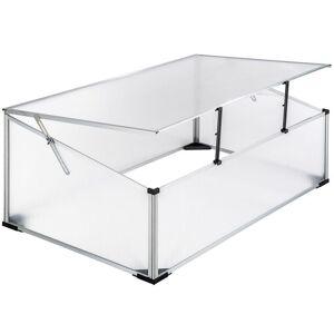 Mini Serre De Jardin Aluminium Polycarbonate 102 X 61 Helloshop26 1608024 - Publicité