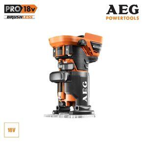 AEG Affleureuse Brushless AEG 18V sans batterie ni chargeur BOF18BL-0 - Publicité