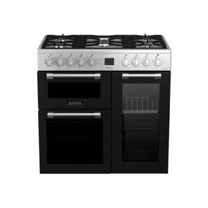 Leisure Cookmaster CK90F320XG - Cuisinière (triple four) - pose libre - largeur : 90 cm - profondeur : 60 cm - hauteur : 90 cm - classe A - acier inoxydable - Publicité