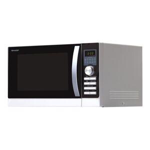 Sharp R-843INW - Four micro-ondes combiné - grill - pose libre - 25 litres - 900 Watt - argent - Publicité