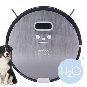 Amibot Robots Aspirateurs Et Laveurs Spécial Poils D'animaux - Amibot Animal Premium H2o - Publicité
