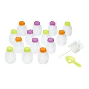 Lagrange Kit pour yaourts à boire - Ensemble de bols - pour yahourtière - Publicité