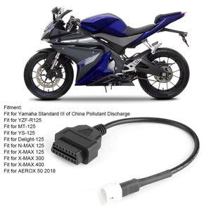 3 Broches À Obd2 Cable De Diagnostic De Moto De Scanner De Code De Défaut Adapté Pour Yamaha X-Max N-Max Mt-125-Dbt - Publicité